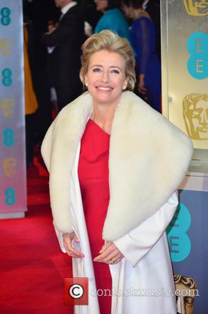 Emma Thompson - EE British Academy Film Awards (BAFTA) 2014 held at the Royal Opera House - Arrivals - London,...