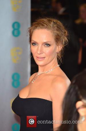 Uma Thurman - EE British Academy Film Awards (BAFTA) 2014 held at the Royal Opera House - Arrivals - London,...