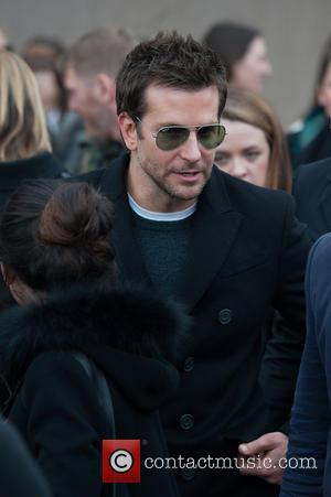 Bradley Cooper - LFW London Fashion Week: Burberry Prorsum A/W held at Kensington Gardens - Departures. - London, United Kingdom...
