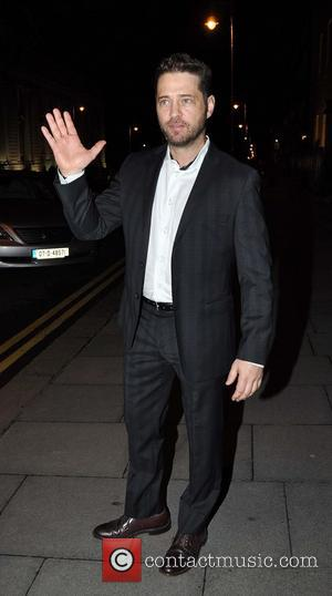 Jason Priestley - Celebrities outside The Merrion Hotel Dublin. Priestley departs to attend a dinner at the American Ambassador's Residence...