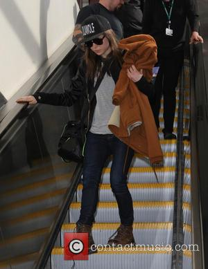 Ellen Page - Ellen Page arrives at Los Angeles International Airport. On Valentine's Day (14Feb14) while speaking at the Human...