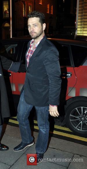 Jason Priestley - Former 'Beverly Hills, 90210' star Jason Priestley arrives at The Merrion Hotel Dublin - Dublin, Ireland -...