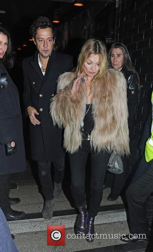 Kate Moss and Jamie Hince - Celebrities leave Ronnie Scotts after watching Prince perform - London, United Kingdom - Tuesday...