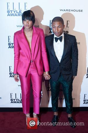 Pharrell Williams and Guest