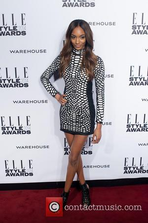 Jourdan Dunn - ELLE Style Awards held at One Embankment - Arrivals. - London, United Kingdom - Tuesday 18th February...