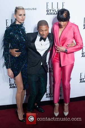 Karolina, Kurkova, Pharrell Williams and Helen Lasichanh - ELLE Style Awards held at One Embankment - Arrivals - London, United...
