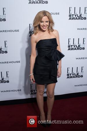 Kylie Minogue - ELLE Style Awards held at One Embankment - Arrivals - London, United Kingdom - Tuesday 18th February...