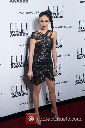 Olga Kurylenko - ELLE Style Awards held at One Embankment - Arrivals - London, United Kingdom - Tuesday 18th February...