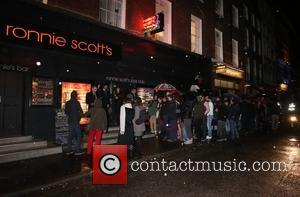 Prince gig at Ronnie Scott's in Soho - Outside Arrivals and departures - London, United Kingdom - Tuesday 18th February...