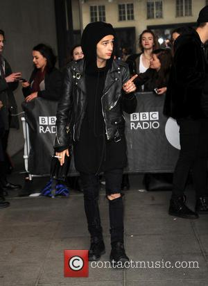 The 1975 - Celebrities at the BBC Radio 1 studios - London, United Kingdom - Tuesday 18th February 2014