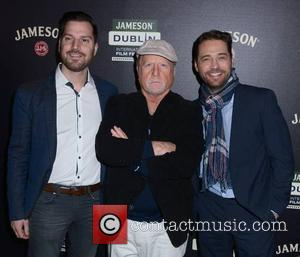 Guest, Richard Dreyfuss and Jason Priestley