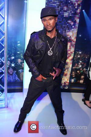 Usher - Madame Tussauds New York unveils state-of-the-art interactive music experience exhibit - NYC, New York, United States - Wednesday...
