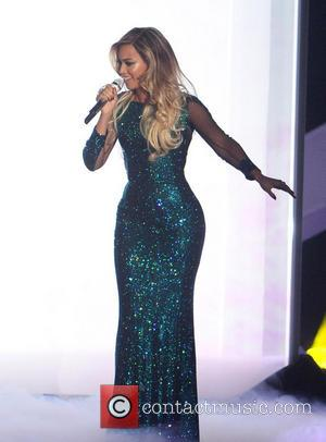 Beyonce Knowles - The BRIT Awards 2014 held at the O2 - Performances and Ceremony - London, United Kingdom -...