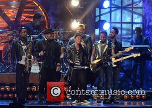 Bruno Mars - The BRIT Awards 2014 held at the O2 - Performances and Ceremony - London, United Kingdom -...