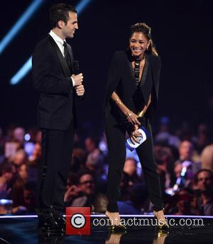 Cesc Fabregas and Nicole Scherzinger