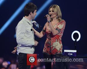 Kate Moss and Noel Gallagher