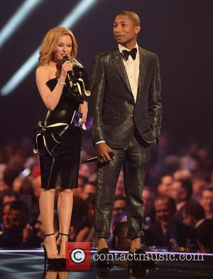 Kylie Minogue and Pharrell Williams