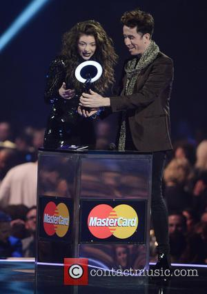 Lorde and Nick Grimshaw