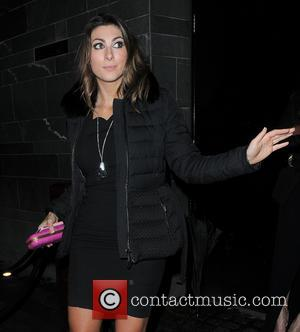 Luisa Zissman - Celebrities attend a Brit Awards after party in Central London - London, United Kingdom - Wednesday 19th...