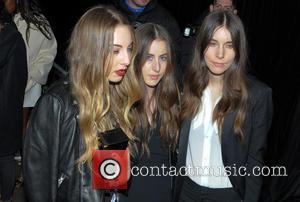 Danielle Haim, Este Haim and Alana Haim - The BRIT Awards - Universal Music Brits after party hosted by Bacardi...