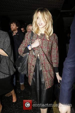 Peaches Geldof - Peaches Geldof leaving Warner after party at The Savoy - London, United Kingdom - Wednesday 19th February...