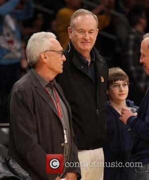 Bill O'Reilly - Celebrities at the Lakers game.The Houston Rockets defeated the Los Angeles Lakers by the score of 134-108...