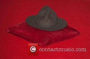 Pharrell Williams hat - The 2014 Master Card Brit Awards held at the O2 - Arrivals. - London, United Kingdom...