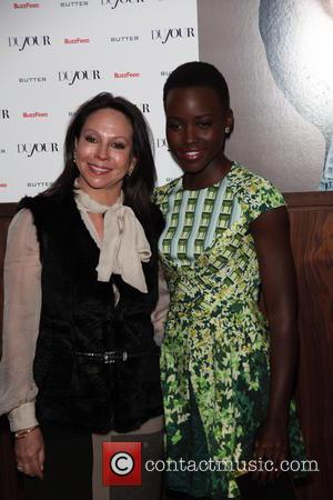 Lisa Cohen and Lupita Nyongo