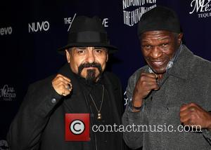 Ruben Guerrero and Floyd Mayweather jr