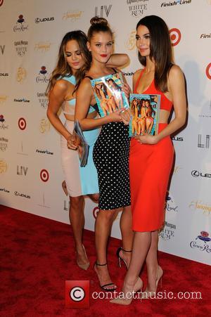 Chrissy Teigen, Lily Aldridge and And Nina Agdal