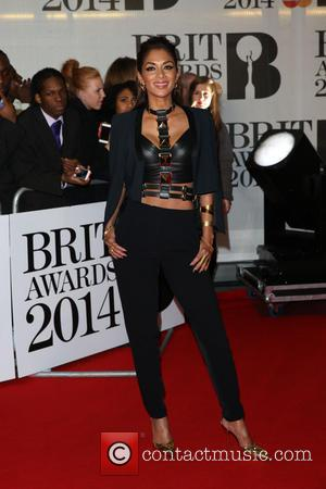 Nicole Scherzinger - The Brit Awards (Brit's) 2014 held at the O2 - Arrivals