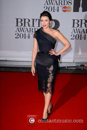 Danni Minogue - The Brit Awards (Brit's) 2014 held at the O2 - Arrivals - London, United Kingdom - Wednesday...