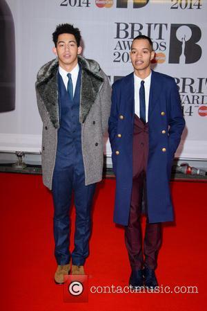 Rizzle Kicks, Jordan Stephens and Harley Alexander-Sule - The Brit Awards (Brit's) 2014 held at the O2 - Arrivals -...