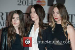 Haim, Danielle Haim, Este Haim and Alana Haim - The 2014 Master Card Brit Awards held at the O2 -...