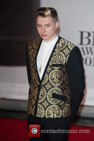 John Newman - The 2014 Master Card Brit Awards held at the O2 - Arrivals. - London, United Kingdom -...