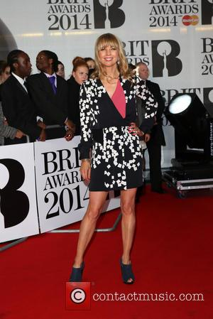 Sara Cox - The Brit Awards (Brit's) 2014 held at the O2 - Arrivals - London, United Kingdom - Wednesday...