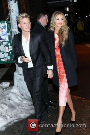 Cody Simpson and Gigi Hadid - the Sports Illustrated Swimsuit 50 Years of Swim in NYC Celebration at the Sports...