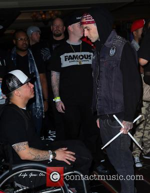 Travis Barker - Famous Stars And Straps 15th anniversary celebration held at Hyde Bellagio Las Vegas - Arrivals - Las...