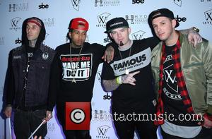 Travis Barker, Kid Ink, Paul Wall and Eric D Lux