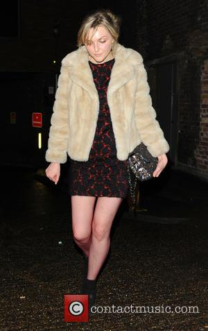 Sophie Dahl - The BRIT Awards 2014 - Sony Music after party held at The Arts Club - Departures -...