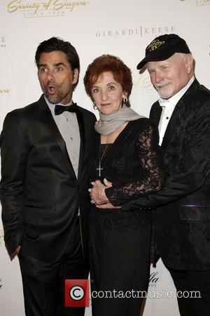 John Stamos, Loretta Stamos and Mike Love - Celebrities attend 21st ELLA Awards at The Beverly Hilton Hotel. - Los...