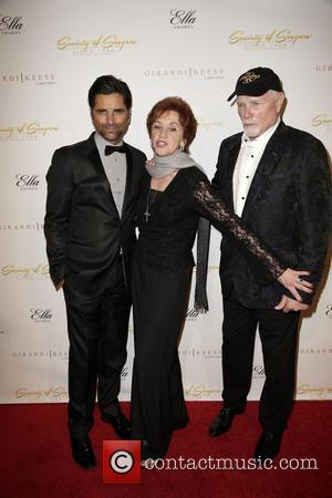John Stamos, Loretta Stamos and Mike Love