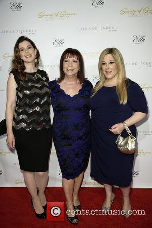 Wendy Wilson, Marilyn Rovell and Carnie Wilson