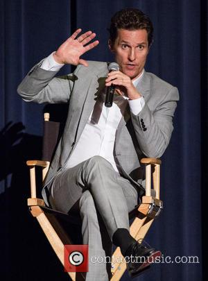Matthew McConaughey - Matthew McConaughey attends a Q&A session during a double-feature bonus event for the movies Dallas Buyers Club...