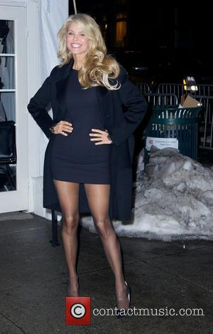 Christie Brinkley - Sports Illustrated Swimsuit Beach House - 2014 cover girls - Outside Arrivals - New York City, New...
