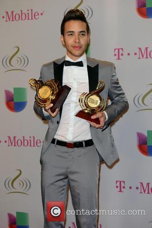 Prince Royce - Premio Lo Nuestro a la Musica Latina 2014 - Press Room - Miami, Florida, United States -...
