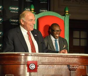 Ed Rendell and Terrell Owens