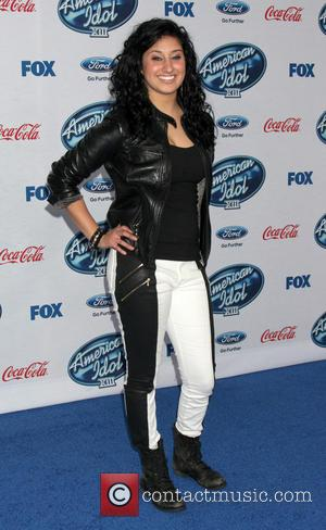 Jena Irene - American Idol Season 13 finalists party held at Fig & Olive in West Holywood - Arrivals -...