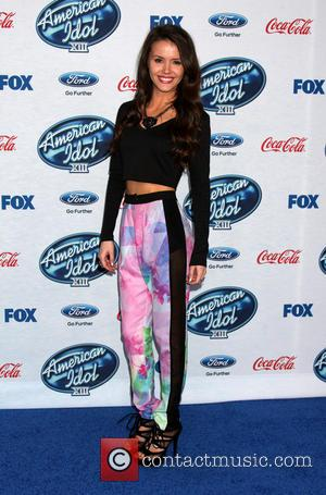 Kristen O'Connor - American Idol Season 13 finalists party held at Fig & Olive in West Holywood - Arrivals -...
