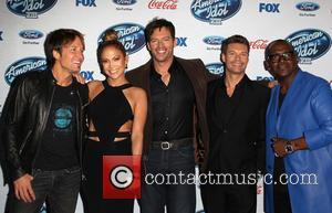 Keith Urban, Jennifer Lopez, Harry Connick, Jr., Ryan Seacrest and Randy Jackson
